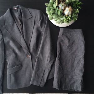 Express Blazer with Pleated Skirt